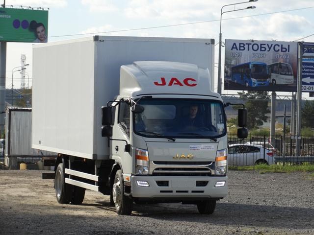 Автомобильные новости Воронежа, Автомобильные новости Черноземья, carzclub, автомобили, Jac Motors, Jac, Jac N120, джак, грузовики JAC, КомАвто