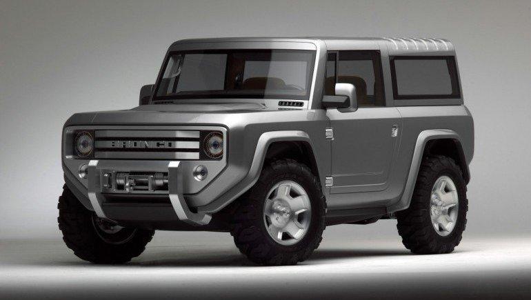 Автомобильные новости Воронежа, Ford Bronco, Ford