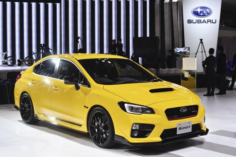 Автомобильные новости Воронежа, Subaru WRX STI S207, субару, токийский автосалон