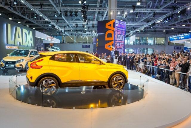 Продажи «АвтоВАЗа» вначале весны возросли на13% - до25,1 тыс. машин