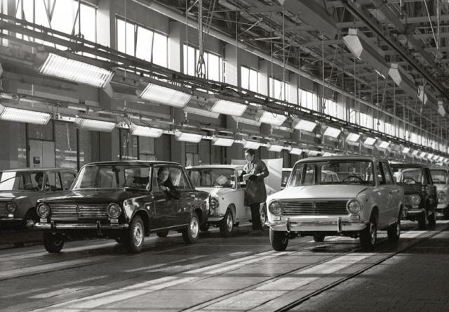 Волжский автомобильный завод отмечает появление ВАЗ