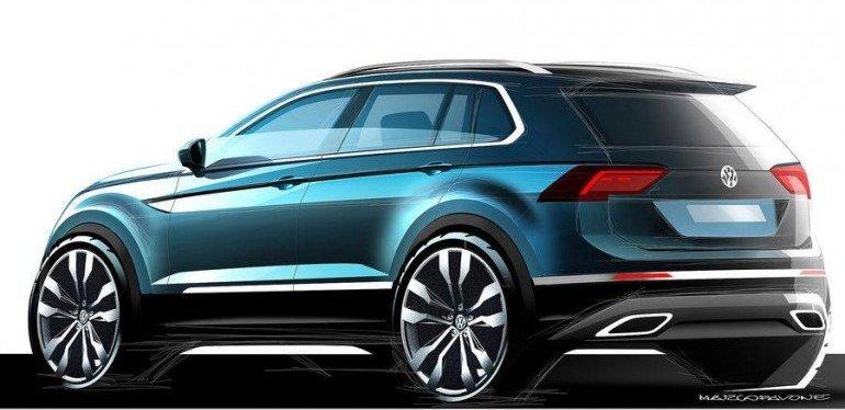 Автомобильные новости Воронежа, новый фольксваген, Volkswagen, VW Tiguan, Тигуан, новый тигуан