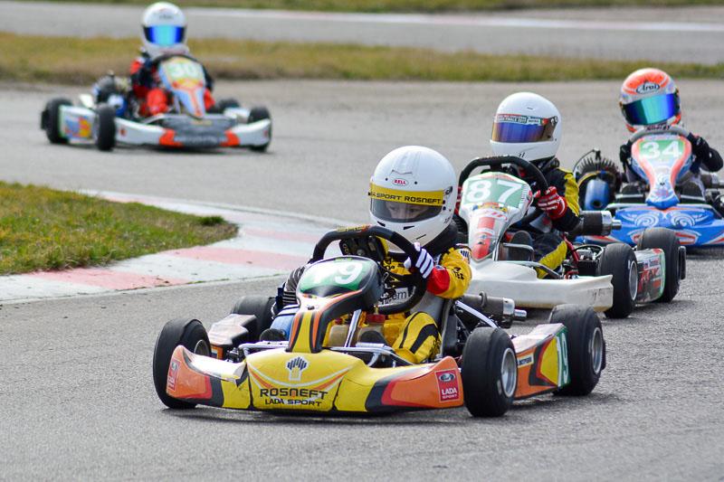 Автомобильные новости Воронежа, carzClub, LADA Sport ROSNEFT Karting Team, картинг