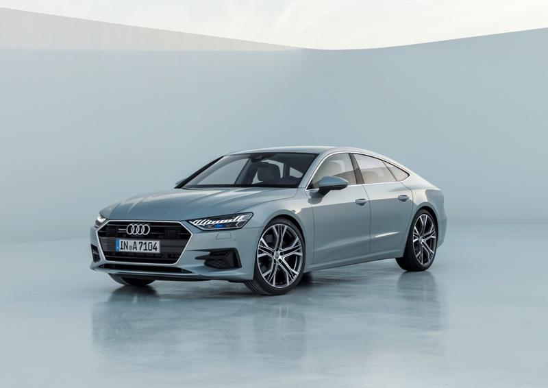 Компания Ауди презентует новый A7 Sportback 19октября