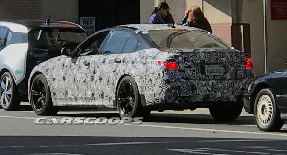 Новый седан БМВ M5 замечен натестах вСША
