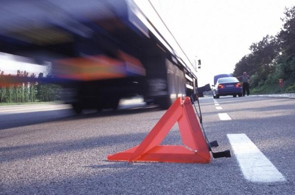 Массовая авария произошла под Воронежем, одна машина загорелась