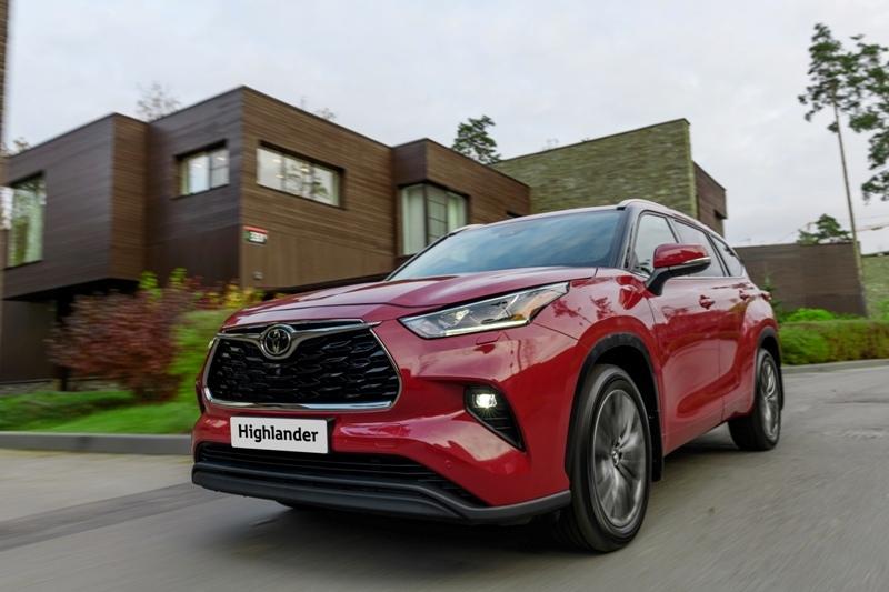 Новый Toyota Highlander: в продаже с начала 2021 года- журнал За рулем