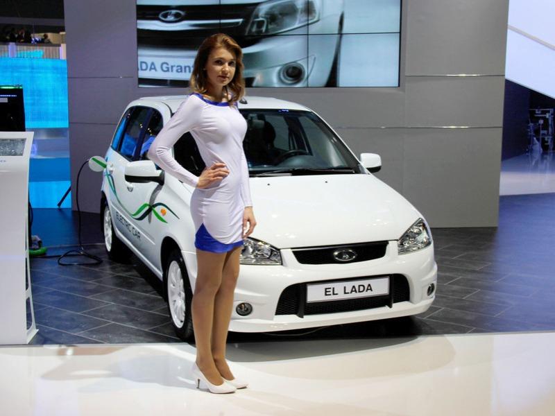 Автомобильные новости Воронежа, Автомобильные новости Черноземья, LADA El lada, заправки для электромобилей