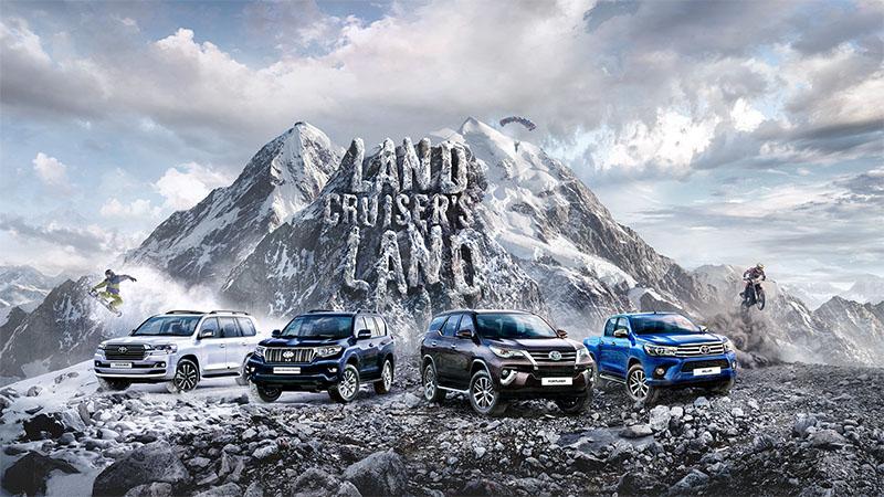 Тойота Land Cruiser Prado 2018 получил новый 3,5-литровый мотор