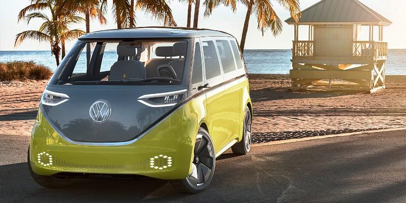Электрический вэн VolkswagenID Buzz пойдет всерию в 2022-ом году