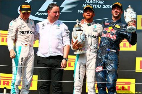 Автомобильные новости, автоспорт, F1, формула-1, гран при венгрии 2016