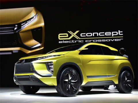 Автомобильные новости Воронежа, MMC, Mitsubishi, concept, exConcept, asx