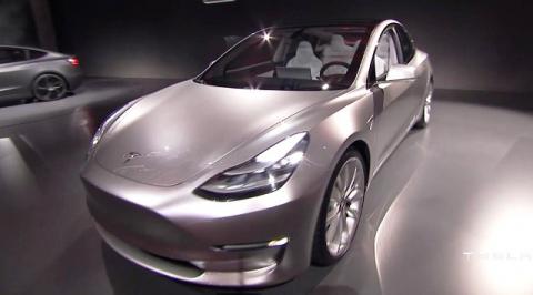 Автомобильные новости Воронежа, тесла, электромобили, Tesla III