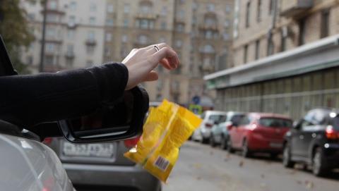 Автомобильные новости Воронежа, carzclub, карзклаб, мусор, мусор из машин, штрафы, ГИБДД, видеокамеры
