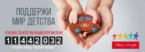Автомобильные новости Воронежа, carzclub, акция, Хаматова, Корзун, дети, LADA, Воронеж-Авто-Сити