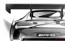 Опубликованы тизеры нового Mercedes AMG GT