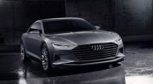 Audi A4 нового поколения, франкфурт, audi prologue