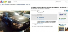 Бекхэм продает разбитый Audi
