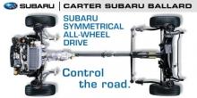 Subaru All Wheel Drive System