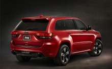 Grand Cherokee SRT Red Vapor