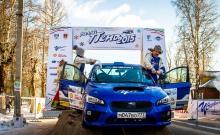 Subaru WRX STI 2015,  Ралли Пено 2015