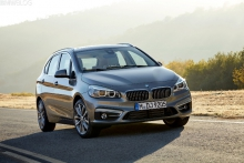 BMW 2 Series Active Tourer - Всемирный автомобиль года
