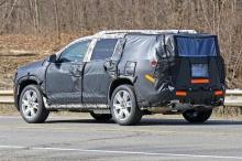 автомобильные новости, general motors, gmc acadia, шпионские фото GMC Acadia