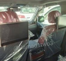 Автомобильные новости Воронежа, шпионские фото нового лексус, новый лексус LX570, купить тойота в воронеже