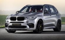 Тюнеры Manhart Performance поработали над BMW X5 M