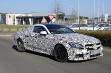 автомобильные новости, Mercedes C63 AMG, купе мерседес, шпионские фото, нюрбургринг