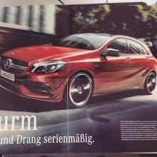 автомобильные новости воронежа, Mercedes A45 AMG