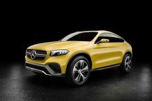 Автомобильные  новости, кроссоверы, Mercedes-Benz GLC, Mercedes-Benz GLC Coupe