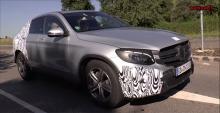 Автомобильные новости, кроссоверы Mercedes-Benz, Mercedes GLC Coupe