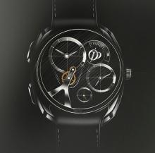 Концептуальные часы Pecqueur Conceptuals от Peugeot