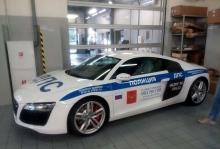 Автомобильные новости Воронежа, Audi R8, суперкар, полицейский спорткар