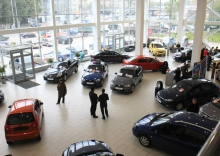 шоурум, автомобильный рынок россии, падение продаж