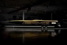 Mercedes-AMG и Cigarette Racing представляют третий по счету плод сотрудничества