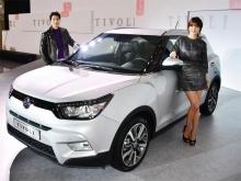 автомобильные новости, SsangYong Tivoli, кроссоверы SsangYong, SsangYong Action