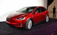 Автомобильные новости Воронежа, теста, кроссовер, Tesla, Tesla Model X