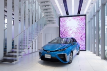 автомобильные новости, toyota mirai, водородный двигатель
