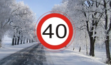 автомобильные новости, знак 40, ленинградская область, ограничение скорости, лимит скорости